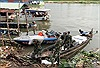 Đi thuyền gỗ tốc độ cao chở 1,5 tấn đường lậu từ Campuchia về Việt Nam