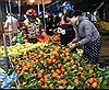 Mồng 5 Tết, nhộn nhịp chợ đầu mối Nam Hà Nội