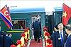 Video Chủ tịch Triều Tiên Kim Jong-un tới Việt Nam