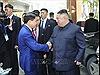Chủ tịch TP Hà Nội đón Chủ tịch Triều Tiên Kim Jong-un ở khách sạn