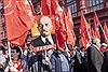 Throughout Russia the 149th anniversary of the birth of leader V. I. Lenin