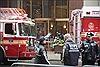 Trực thăng bốc cháy khi hạ cánh xuống mái tòa nhà hơn 50 tầng