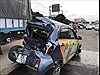 Xe khách bất ngờ mất lái đâm bẹp rúm 2 ô tô con