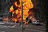 15 người thương vong trong vụ cháy xe bồn chở 4,5 tấn nhiên liệu