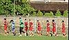 Đội tuyển Việt Nam tập buổi đầu tiên ở Bali chuẩn bị cho trận đấu với Indonesia