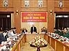 Tổng Bí thư, Chủ tịch nước Nguyễn Phú Trọng chủ trì Hội nghị Tổng kết công tác quân sự, quốc phòng 2019