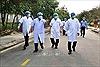 Thứ trưởng Bộ y tế 'thị sát' công tác phòng, chống dịch COVID-19 tại Thừa Thiên - Huế