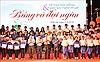 Trao học bổng 'Tiếp sức đến trường' cho sinh viên khu vực Tây Nguyên