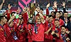 Đội tuyển Việt Nam duy trì vị trí thứ 100 trên bảng xếp hạng FIFA