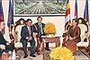 Lãnh đạo Campuchia tiếp Đoàn cấp cao Ủy ban Kiểm tra Trung ương Đảng Việt Nam