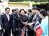 Chủ tịch Quốc hội Nguyễn Thị Kim Ngân thăm Đại sứ quán Việt Nam tại Thái Lan