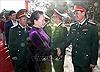 Chủ tịch Quốc hội thăm, chúc Tết tại Bộ chỉ huy Quân sự tỉnh Đắk Lắk