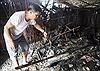 Cháy tại nhà lồng chợ Rạch Sỏi