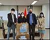 Tặng 3.000 khẩu trang cho cộng đồng người Việt tại Hàn Quốc