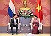 Chủ tịch Quốc hội Nguyễn Thị Kim Ngân hội kiến Thủ tướng Vương quốc Hà Lan
