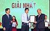 Thủ tướng Nguyễn Xuân Phúc dự Lễ trao Giải thưởng toàn quốc về thông tin đối ngoại năm 2018
