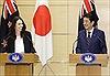 Nhật Bản và New Zealand nhất trí phối hợp mở rộng CPTPP