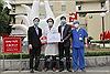 Tiếp sức phòng chống dịch COVID-19 tại Bệnh viện Bạch Mai