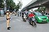 Phân luồng đảm bảo giao thông trong kỳ thi Trung học phổ thông quốc gia