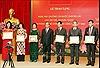 Trao tặng Huân chương, Huy chương của Nhà nước Lào cho Văn phòng Trung ương Đảng