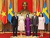 Lễ đón chính thức và hội đàm với Công chúa kế vị Thụy Điển