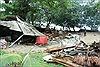 Khung cảnh hoang tàn tại bãi biển Anyer sau thảm họa sóng thần