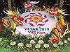 Các mặt hàng thủ công mỹ nghệ được trưng bày tại Đại lễ Phật đản Vesak 2019
