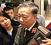 Bộ trưởng Tô Lâm: Đã mang đầy đủ tài liệu sang Anh để đối chứng xét nghiệm các nạn nhân