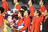 Thủ tướng sẽ đón tiếp hai đội tuyển bóng đá nam, nữ vô địch SEA Games 30 ngay khi vừa về nước