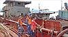 Cảnh sát biển tạm giữ 5 tàu khai thác cát trái phép
