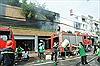 Cháy lớn thiêu rụi hai công ty và nhà dân, nhiều người thoát chết