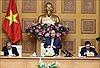 Thường trực Chính phủ họp với Ban Chỉ đạo quốc gia phòng, chống dịch COVID-19