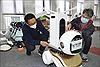 Trung Quốc chế tạo robot hỗ trợ các bác sĩ khám chữa bệnh cho bệnh nhân