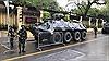Ngắm dàn xe bọc thép 'khủng' đảm bảo an ninh Hội nghị thượng đỉnh Mỹ-Triều Tiên
