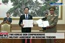 Hai miền Triều Tiên cam kết gì trong Hiệp ước quân sự vừa ký?