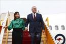 Thủ tướng Australia Scott Morrison và Phu nhân đến sân bay Nội Bài