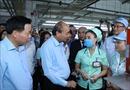 Thủ tướng đối thoại với công nhân và làm việc với lãnh đạo tỉnh Bắc Ninh