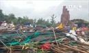 Lốc xoáy kinh hoàng 'càn quét' Gành Đá Đĩa - Phú Yên