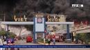 Vụ cháy tại khu công nghiệp ở Bình Dương thiệt hại 30 tỉ đồng
