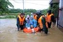 Mưa lớn, Đà Nẵng chìm trong biển nước, nhiều nơi ngập sâu hơn 1m