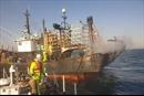 Cháy tàu cá ngoài khơi Hàn Quốc, 1 thuyền viên người Việt mất tích