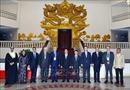 Thủ tướng tiếp Đoàn các hãng thông tấn tham dự Hội nghị OANA lần thứ 44