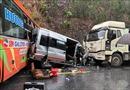 Tai nạn liên hoàn tại đường tránh quốc lộ 1A làm 1 người chết, 5 người bị thương