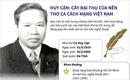 Huy Cận - Cây đại thụ của nền thơ ca cách mạng Việt Nam