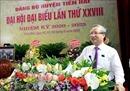 Thường trực Ban Bí thư Trần Quốc Vượng dự Đại hội Đại biểu Đảng bộ huyện Tiền Hải