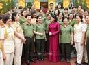 Quyền Chủ tịch nước Đặng Thị Ngọc Thịnh gặp mặt đại biểu nữ cán bộ, chiến sĩ Công an nhân dân tiêu biểu