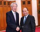 Thủ tướng Nguyễn Xuân Phúc tiếp Phó Thủ tướng, Bộ trưởng Điều phối An ninh quốc gia Singapore