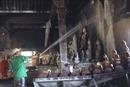 Cháy chùa Tà Bết ở Kiên Giang, toàn bộ tượng Phật bị thiêu rụi
