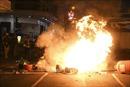 Cảnh sát Hong Kong lên án hành động bạo lực của người biểu tình