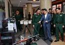 Phó Thủ tướng Vũ Đức Đam làm việc với Bộ Quốc phòng về nghiên cứu khoa học và công nghệ quân sự